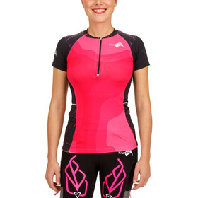 KiWAMi Equilibrium Trail Top Women black/pink